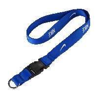 <ナイキ(NIKE)公式ストア> ナイキ ランヤード ネックストラップ AC3582-413 ブルー ★30日間返品無料 / Nike+メンバー送料無料画像