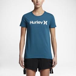 Женская футболка Hurley One And Only Perfect CrewЖенская футболка Hurley One And Only Perfect Crew из мягкого и прочного хлопка обеспечивает комфорт на каждый день.<br>
