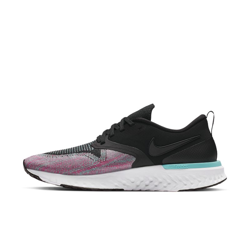 Scarpa da running Nike Odyssey React Flyknit 2 - Donna - Nero