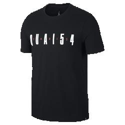 Мужская футболка Jordan Quai 54Мужская футболка Jordan Quai 54 из мягкого хлопка дополнена фирменными деталями в честь всемирно известного турнира по стритболу.<br>