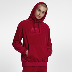 Мужская худи из велюра Nike SportswearМужская худи Nike Sportswear из мягкого велюра с «водолазным» капюшоном обеспечивает защиту и комфорт на весь день.<br>