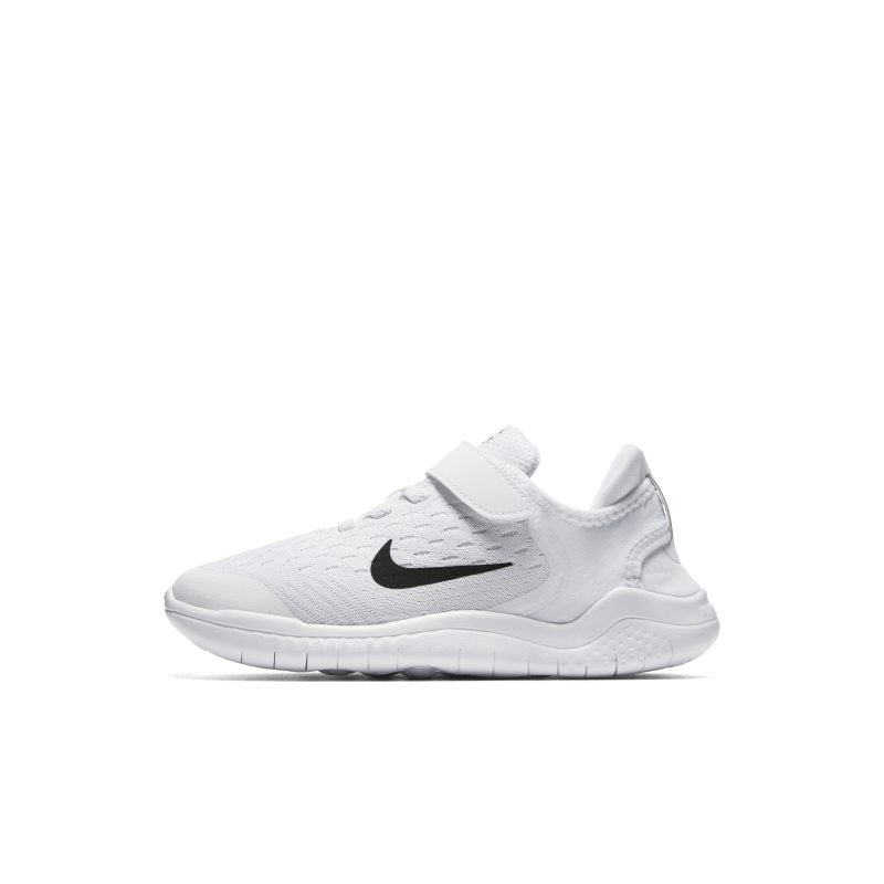 big sale 60756 0d78e Nike Free RN 2018 Younger Kids' Shoe - White