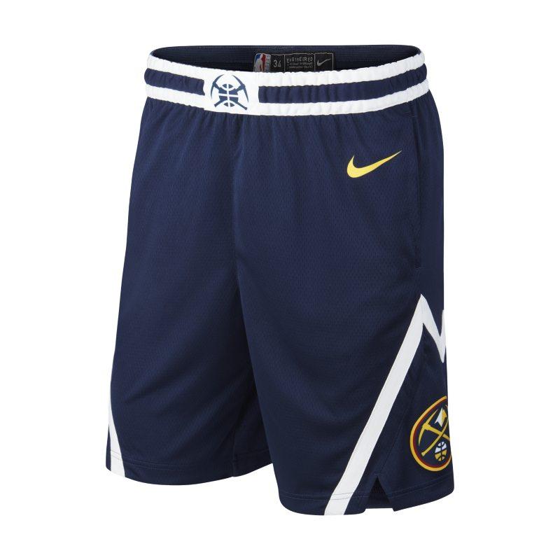 Denver Nuggets Icon Edition Swingman Nike NBA ErkekŞortu  AH3871-419 -  Mavi S Beden Ürün Resmi
