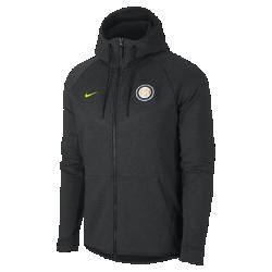 Мужская куртка Inter Milan Tech Fleece WindrunnerМужская куртка Inter Milan Tech Fleece Windrunner сохранила классические элементы оригинальной модели для бега: шеврон на груди и гладкий флис, обеспечивающий легкость и тепло в любой ситуации.<br>