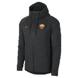 Мужская куртка A.S. Roma Tech Fleece WindrunnerМужская куртка A.S. Roma Tech Fleece Windrunner сохранила классические элементы оригинальной модели для бега: шеврон на груди и гладкий флис, обеспечивающий легкость и тепло в любой ситуации.<br>