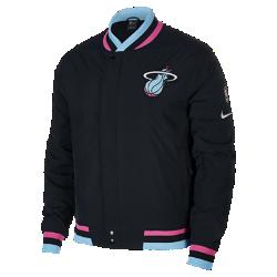 <ナイキ(NIKE)公式ストア>マイアミ ヒート ナイキ コートサイド メンズ NBA ジャケット AH5284-010 ブラック画像