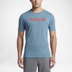 Мужская футболка Hurley Dri-FIT One And OnlyМужская футболка Hurley Dri-FIT One And Only из мягкой влагоотводящей ткани обеспечивает вентиляцию и комфорт на весь день.<br>