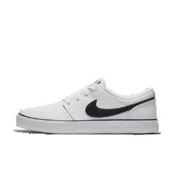 Женская обувь для скейтбординга Nike SB Portmore IIСтильная женская обувь для скейтбординга Nike SB Portmore II с минималистичным верхом и системой амортизации Solarsoft обеспечивает комфорт во время катания и в любой другой ситуации.<br>