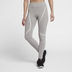 Женские беговые тайтсы с графикой Nike Epic LuxЖенские беговые тайтсы с графикой Nike Epic Lux из влагоотводящей компрессионной ткани со вставками из сетки обеспечивают охлаждение и поддержку во время бега.<br>