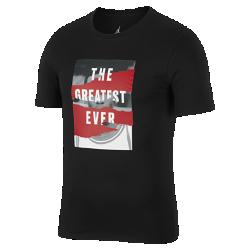 <ナイキ(NIKE)公式ストア>ジョーダン スポーツウェア ヘリテージ メンズ グラフィック Tシャツ AH6318-010 ブラック 30日間返品無料 / Nike+メンバー送料無料画像