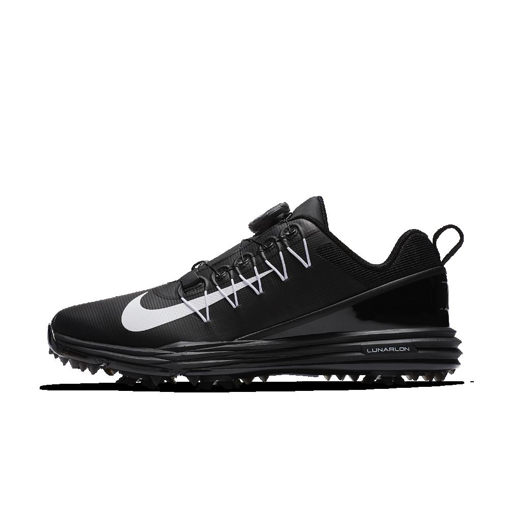 ナイキ ルナ コマンド 2 Boa (ワイド) ウィメンズ ゴルフシューズ AH6990-001 ブラック ★30日間返品無料 / Nike+メンバー送料無料