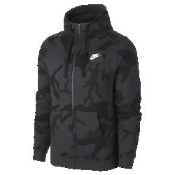 Мужская флисовая худи Nike SportswearМужская худи Nike Sportswear из мягкого флиса с регулируемым капюшоном обеспечивает тепло и комфорт.<br>