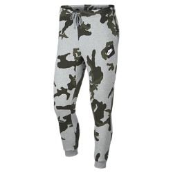 Мужские флисовые джоггеры с камуфляжным принтом Nike Sportswear ClubМужские флисовые джоггеры Nike Sportswear Club из мягкого флиса с камуфляжным принтом обеспечивают тепло и комфорт.<br>