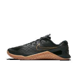 Мужские кроссовки для тренинга Nike Metcon 3 XМужские кроссовки для тренинга Nike Metcon 3 X созданы для самых интенсивных тренировок — от упражнений с канатом и у стены до бега на короткие дистанции и поднятия веса.<br>