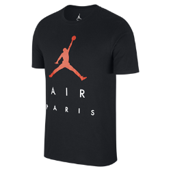 Мужская футболка Jordan City (Paris)Мужская футболка Jordan City (Paris) из прочного чистого хлопка обеспечивает комфорт на весь день.<br>