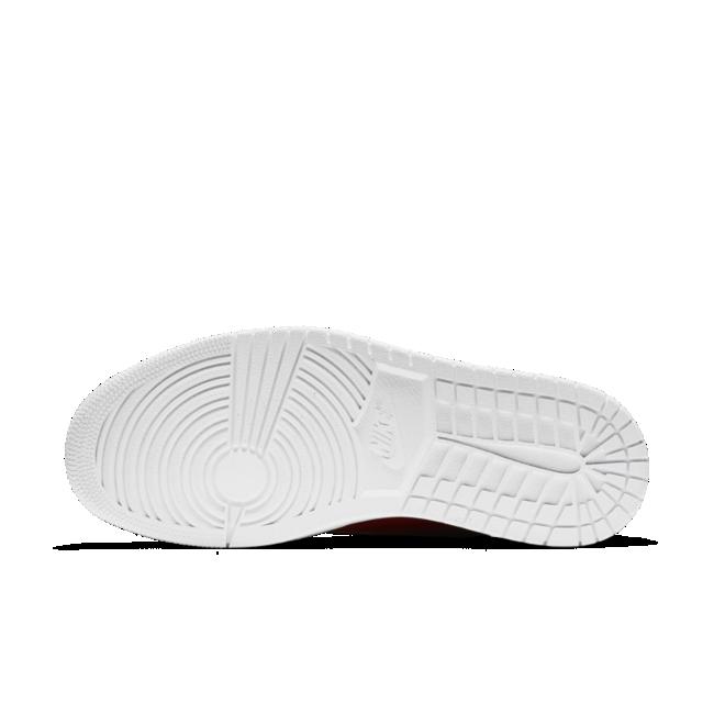 Nike Air Jordan 1 damessneaker rood