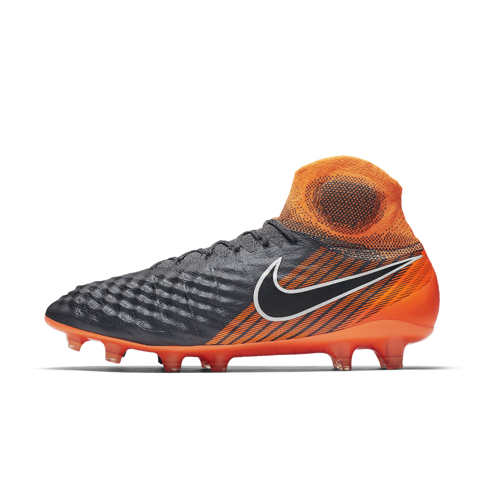 f23d95474 Nike Magista Obra II Elite Dynamic Fit FG Firm-Ground Soccer Cleats Size  7.5 (Grey) - Clearance Sale