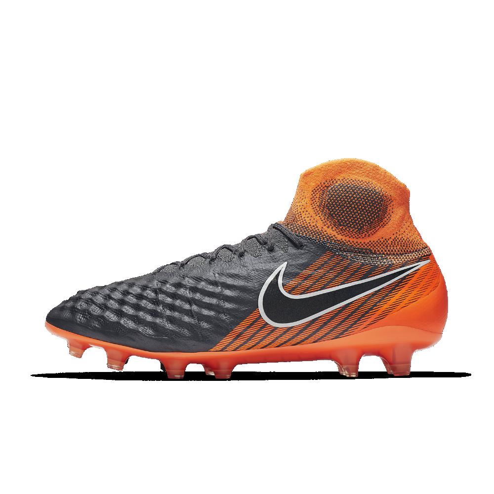 d0e88b05eb2 Nike Magista Obra II Elite Dynamic Fit FG Firm-Ground Soccer Cleats Size  7.5 (Grey) - Clearance Sale