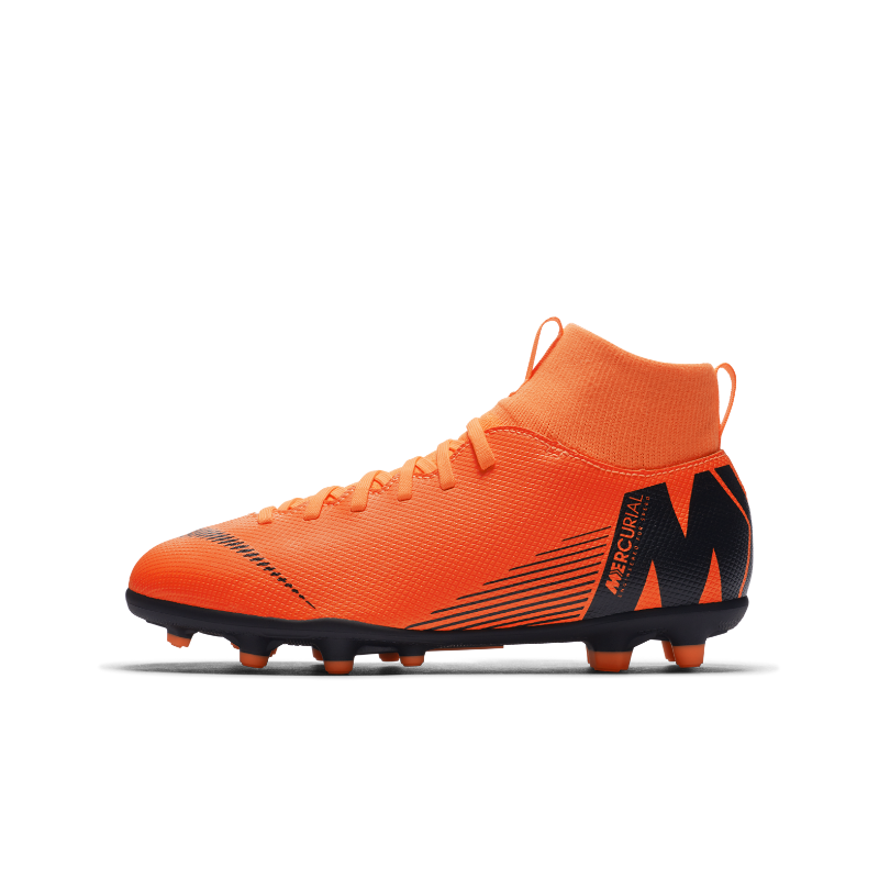 4dd68e9e9c4f5 Nike Jr. Mercurial Superfly VI Club MG Botas de fútbol para múltiples  superficies - Niño a y niño a pequeño a