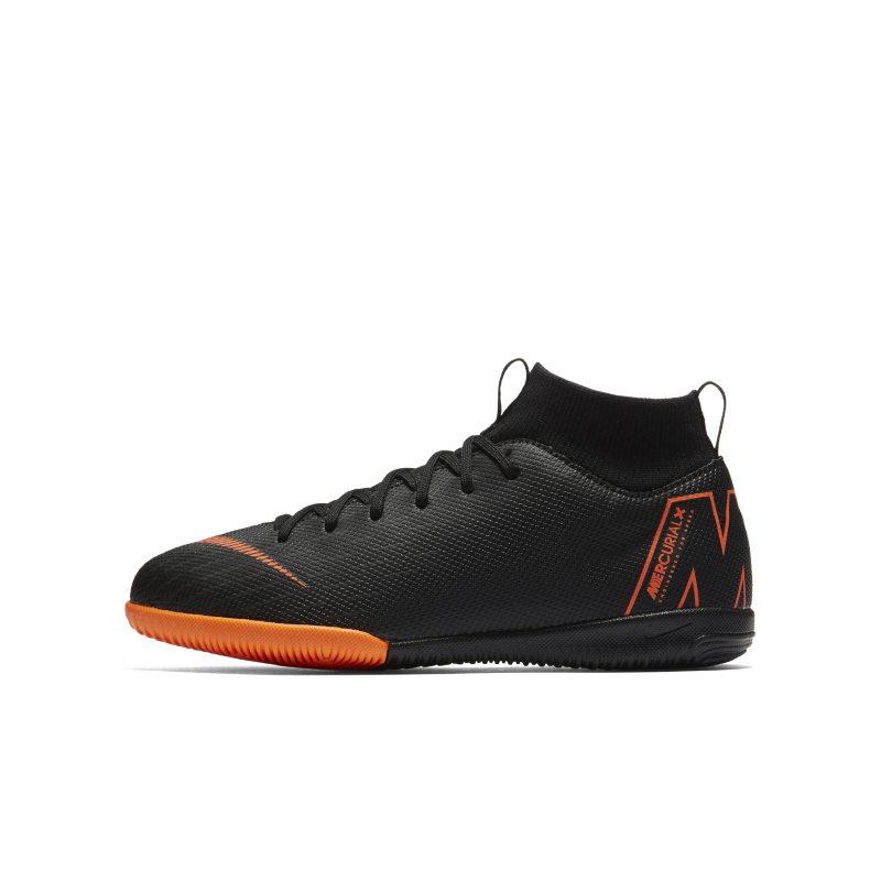 Nike Jr. SuperflyX 6 Academy IC Küçük/Genç Çocuk Kapalı Saha/Salon Kramponu  AH7343-081 -  Siyah 36 Numara Ürün Resmi