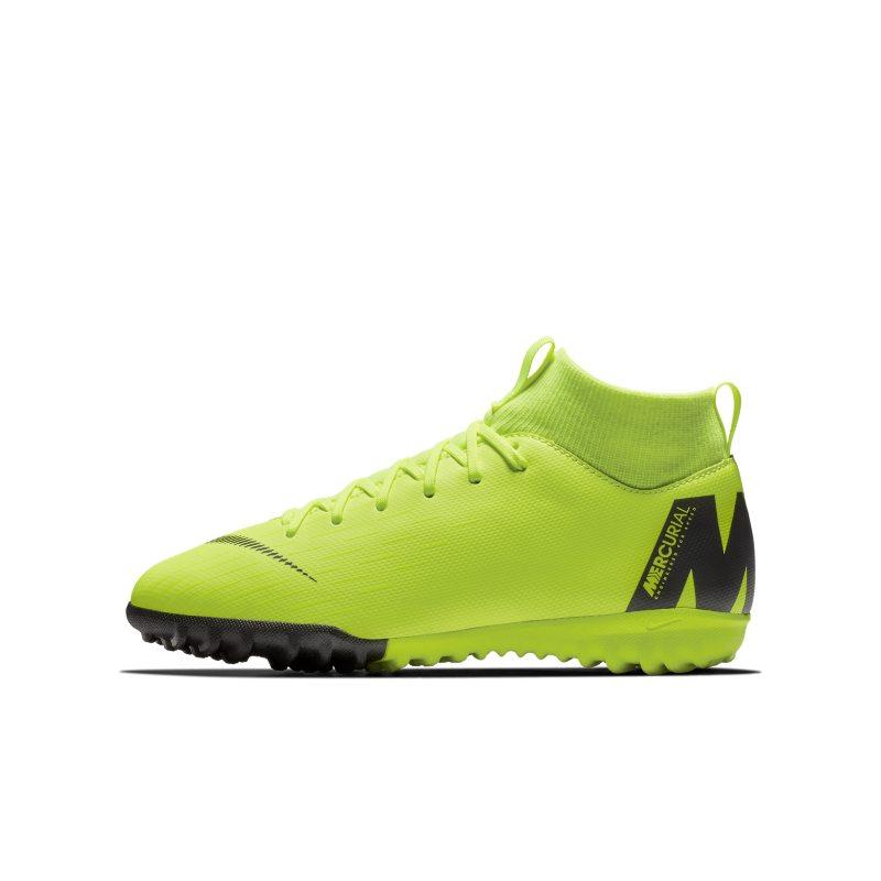 Nike Jr. MercurialX Superfly VI Academy Küçük/Genç Çocuk Halı Saha Kramponu  AH7344-701 -  Sarı 33 Numara Ürün Resmi