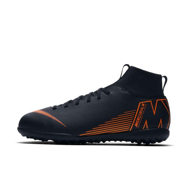 Nike Jr. MercurialX Superfly VI Club TF Younger/Older Kids'Artificial-Turf Football Shoe - Black