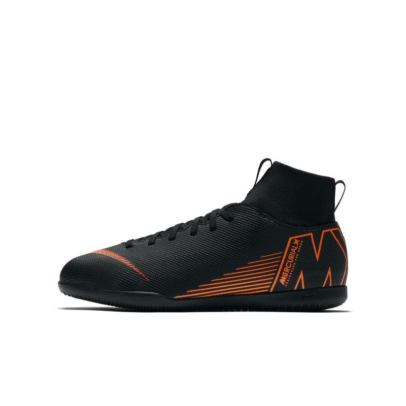 Nike Jr. MercurialX Superfly VI Club IC Younger/Older Kids'Indoor/Court Football Shoe - Black Image