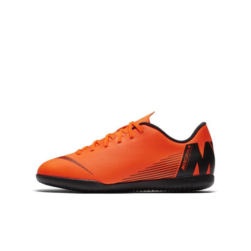 Nike Jr. MercurialX Vapor XII Club IC Younger/Older Kids'Indoor/Court Football Shoe - Orange Image