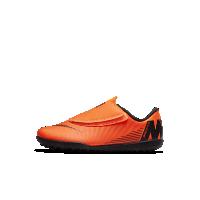 <ナイキ(NIKE)公式ストア>ナイキ ジュニア マーキュリアル ヴェイパー XII クラブ TF ベビー&リトルキッズ 人工芝用 サッカーシューズ AH7357-810 オレンジ画像
