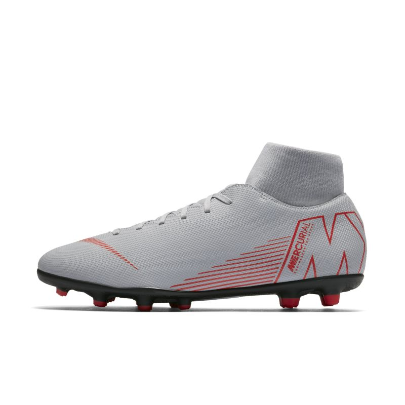 Nike Mercurial Superfly VI Club Multi-Ground Football Boot - Grey