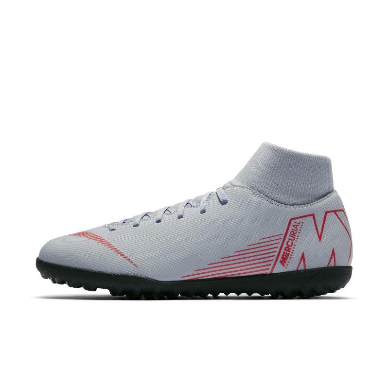 Nike MercurialX Superfly VI Club Turf Football Shoe - Grey Image