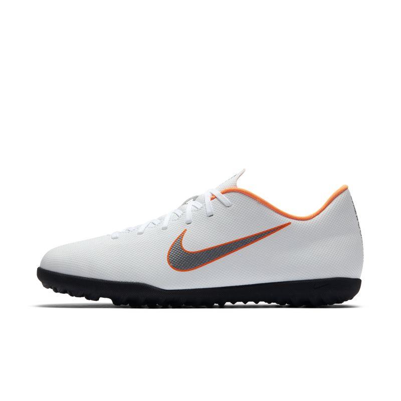 Nike MercurialX Vapor XII Club Turf Football Shoe - White Image