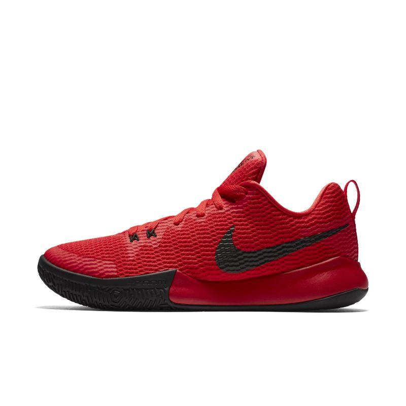 Nike Zoom Live II Men's Basketball Shoe - Red Image