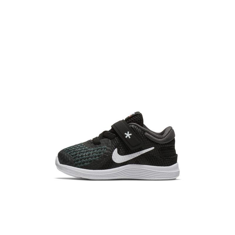 Scarpa Nike Revolution 4 FlyEase - Neonati/Bimbi piccoli - Nero
