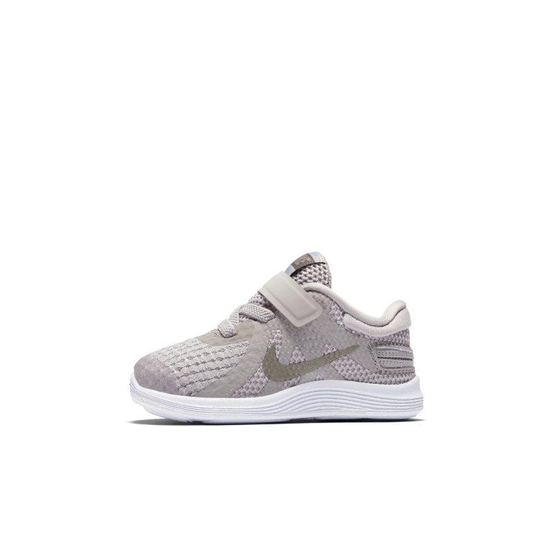 Scarpa Nike Revolution 4 FlyEase - Neonati/Bimbi piccoli - Grigio