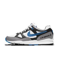 Мужские кроссовки Nike Air Span IIМужские кроссовки Nike Air Span II с текстильным верхом с накладками из синтетической кожи дополнены вставкой Max Air для легкости и амортизации.<br>