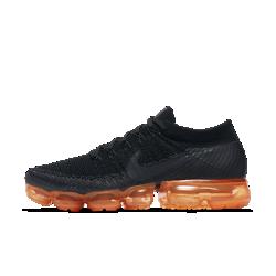 Nike Air VaporMax Flyknit Black Pop Men's Running Shoe