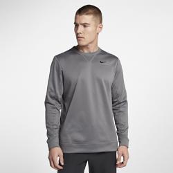 Мужская футболка для гольфа с длинным рукавом Nike ThermaСВОБОДА ДВИЖЕНИЙ  Мужская футболка для гольфа с длинным рукавом Nike Therma из эластичной ткани Nike Therma обеспечивает тепло и комфорт. А водоотталкивающее покрытие позволяет играть при любых погодных условиях.  Естественное тепло  Ткань Nike Therma удерживает тепло тела.  Комфорт в движении  Ткань двойного переплетения с начесом тянется в двух направлениях, обеспечивая свободу движений и позволяя сконцентрироваться на игре.  Отведение влаги  Водоотталкивающее покрытие защищает от влаги в непогоду.<br>