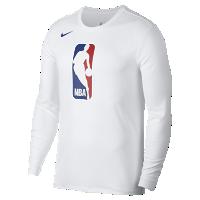 <ナイキ(NIKE)公式ストア>ビッグ ジェリー ウエスト ナイキ Dri-FIT メンズ ロングスリーブ NBA Tシャツ AH9205-100 ホワイト画像