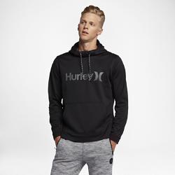 Мужская флисовая худи Hurley Therma Protect PulloverМужская флисовая худи Hurley Therma Protect Pullover — усовершенствованная базовая модель из невероятно теплой ткани для холодной погоды. Ткань Nike Therma-FIT использует выделяемоетелом тепло, обеспечивая оптимальный комфорт, когда становится прохладно.<br>