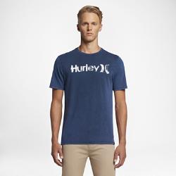 Мужская футболка Hurley One And Only Acid WashМужская футболка Hurley One And Only Acid Wash с логотипом с эффектом состаренности — идеальная модель для отдыха на пляже и любой другой активности.<br>