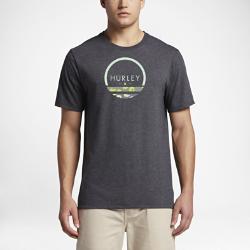 Мужская футболка Hurley OlasМужская футболка Hurley Olas — классическая модель из мягкой ткани для комфорта в любой ситуации: прогулки на пляж или отдыха в парке развлечений.<br>