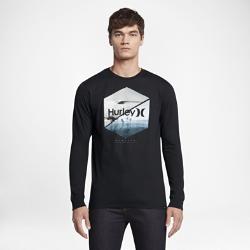 Мужская футболка с длинным рукавом Hurley Seven TwentyМужская футболка с длинным рукавом Hurley Seven Twenty — мягкая базовая модель, идеальная для отдыха после занятий серфингом.<br>