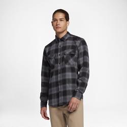 Мужская рубашка с длинным рукавом Hurley Dry CoraМужская рубашка с длинным рукавом Hurley Dry Cora с классической клеткой и планкой на пуговицах выполнена из влагоотводящей ткани для комфорта на каждый день.<br>