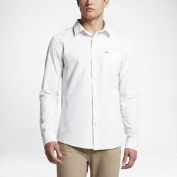 Мужская футболка с длинным рукавом Hurley One and Only 3.0Мужская футболка с длинным рукавом Hurley One and Only 3.0 из чистого хлопка обеспечивает комфорт на каждый день.<br>