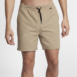 Мужские шорты Hurley One And Only Wash Volley 43 смМужские шорты Hurley One And Only Wash Volley 43 см из легкой ткани шамбре — идеальная модель для пикника, барбекю или похода на пляж.<br>