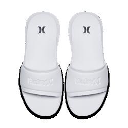 Женские сандалии Hurley One And Only Fusion SlideЖенские сандалии Hurley Fusion Slide выполнены с нижней частью анатомической формы из мягкого материала EVA. Быстросохнущая ткань на ремешке делает модель незаменимой вещьюна пляже и в бассейне.<br>