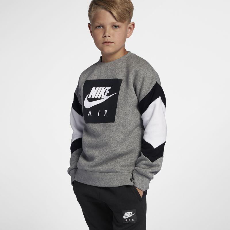 Nike Air Older Kids'(Boys') Crew - Grey