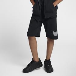 <ナイキ(NIKE)公式ストア>ナイキ スポーツウェア ジュニア (ボーイズ) ショートパンツ AJ0163-010 ブラック 30日間返品無料 / Nike+メンバー送料無料