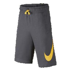 40%OFF!<ナイキ(NIKE)公式ストア>ナイキ スポーツウェア ジュニア (ボーイズ) ショートパンツ AJ0163-036 グレー 30日間返品無料 / Nike+メンバー送料無料